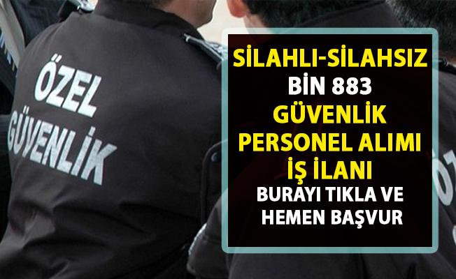 İŞKUR tarafından, güvenlik görevlisi iş ilanları yayımlandı! Türkiye genelinde silahlı-silahsız yüzlerce güvenlik personel alımı yapılacaktır