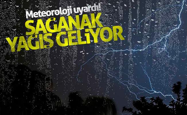 İstanbul hava durumu! Meteoroloji'den son dakika sağnak yağış uyarısı!