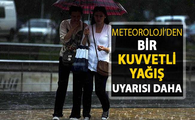 Kuvvetli Yağış Hakkında Meteoroloji'den Bir Uyarı Daha Geldi