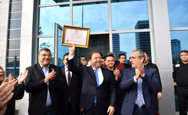 Maltepe Belediye Başkanı Ali Kılıç Mazbatasını Aldı!