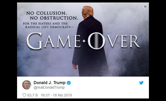 Mueller Raporu Sunuldu: Trump Kampanyasında Rusya İle İşbirliği Kanıtı Bulunmadı
