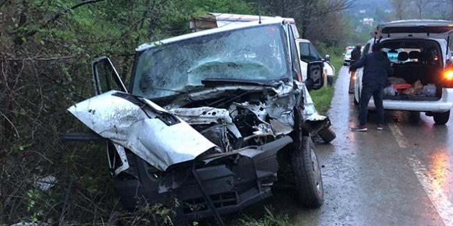 Ordu'da Korkunç Trafik Kazası! 9 Kişi Yaralandı