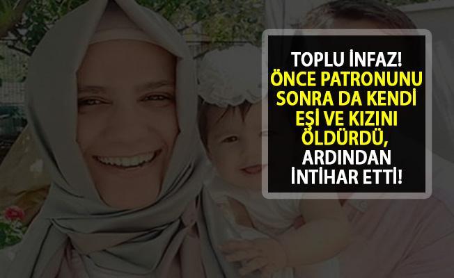 Sakarya'da Toplu İnfaz! Patronunu, Eşini ve Kızını Öldürdü, Sonra İntihar Etti!