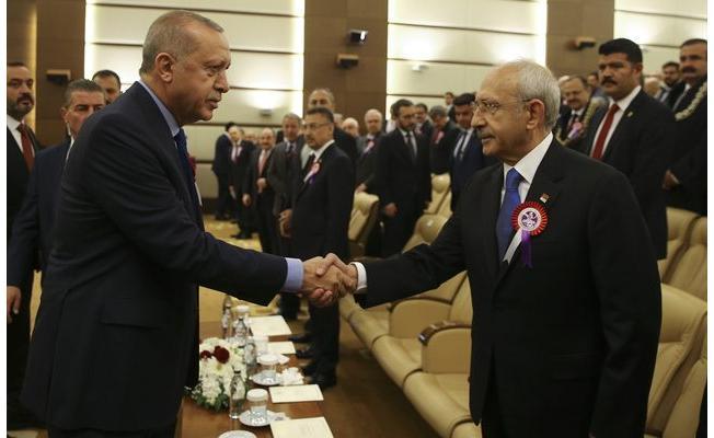 Saldırının Ardından Kemal Kılıçdaroğlu ve Cumhurbaşkanı Erdoğan İlk Kez Bir Araya Geldi!