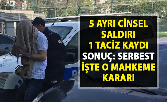 Samsun Atakum'da gözaltına alınan cinsel sapık serbest bırakıldı