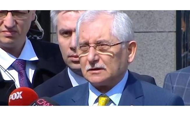 Son Dakika: YSK Başkanı İstanbul Hakkında Açıklama Yaptı