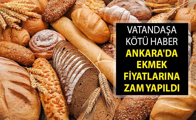 Son Dakika... Ankara'da Ekmek Fiyatlarına Zam! Ekmek Fiyatları Ne Kadar Oldu? Ankara Ekmek Zammı