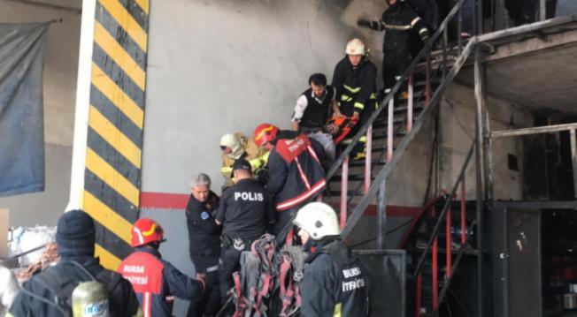 Son Dakika... Bursa'da Fabrikada Patlama! Ölü ve Yaralı İşçiler Var