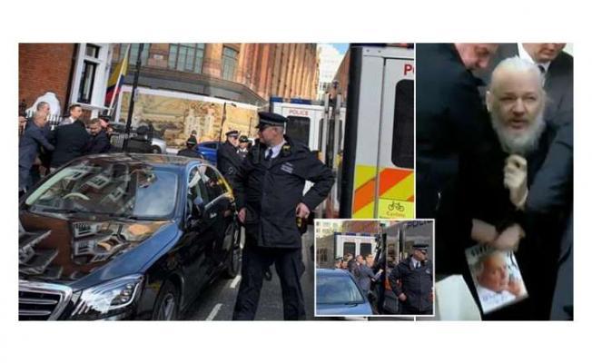 Wikileaks kurucusu Assange Gözaltına Alındı!