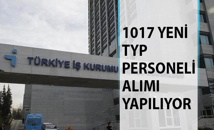 1017 Yeni TYP Personeli Alım İlanı Yayımlandı! İŞKUR TYP Personeli Alımı Başvuru Ekranı 2019