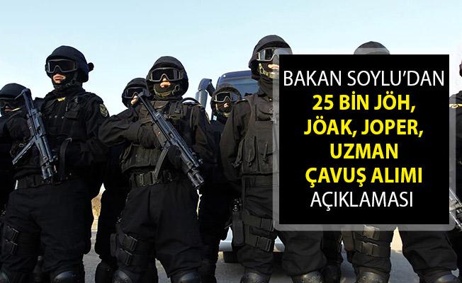 25 Bin Jandarma Asayiş Alınacak! Bakan Soylu'dan JÖH, JÖAK, JOPER ve Uzman Çavuş Alımı Açıklaması Geldi