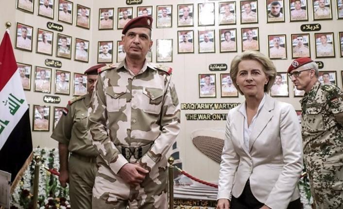 ABD'den sonra Almanya'da Irak'taki askeri faaliyetlerini askıya aldı!