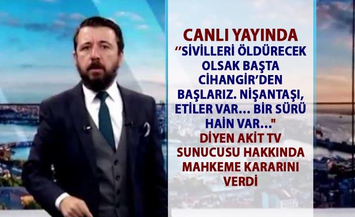 Akit TV'nin eski spikeri Ahmet Keser hapis cezası aldı!