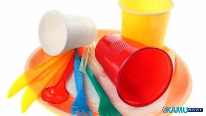 Avrupa'da tek kullanımlık plastik tabak, çatal, pipet gibi ürünler 2021'den itibaren yasaklandı