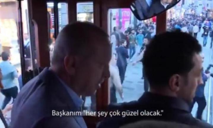 Cumhurbaşkanı Erdoğan'dan 'Her şey çok güzel olacak' diyen kadına cevap