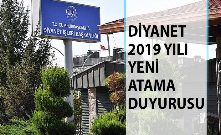 Diyanet İşleri Başkanlığı (DİB) 2019 Yılı Yeni Atama Duyurusu Yayımladı!