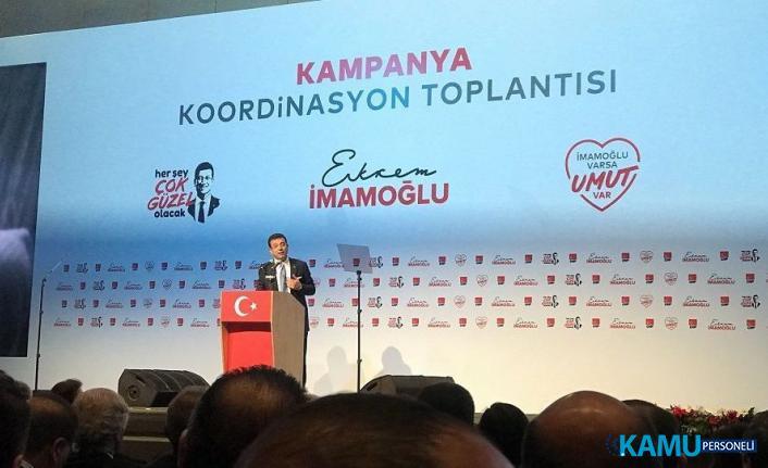 """Ekrem İmamoğlu 23 Haziran'da izleyeceği yol haritasını açıklıyor: """"Çok çalışacağız, yine kazanacağız, başaracağız!"""""""