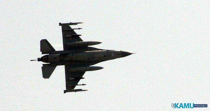 F-16 Jeti Bir Deponun Çatısına Düştü!