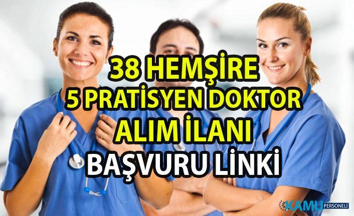 Hemşire iş ilanları! İŞKUR tarafından 38 hemşire ve 5 pratisyen doktor personel alımı yapılacak