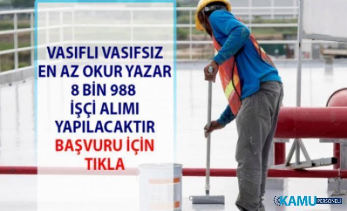 İŞKUR iş ilanları! Vasıflı Vasıfsız işçi ve personel alımı iş başvurusu...