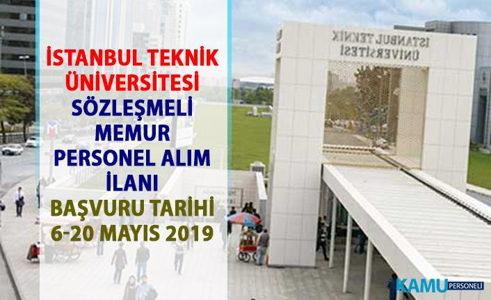 İstanbul Teknik Üniversitesi (İTÜ) bilişim personeli alım ilanı! 2 Sözleşmeli Memur alımı yapılacaktır