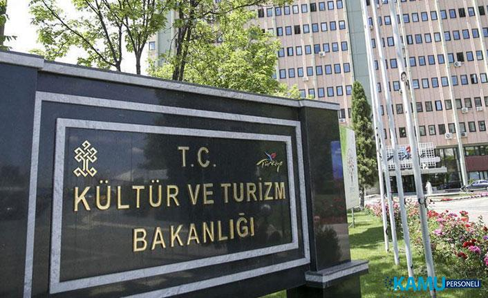 Kültür ve Turizm Bakanlığı 500 Memur Alımı Yapacak! Kültür Bakanlığı Personel Alımı 2019