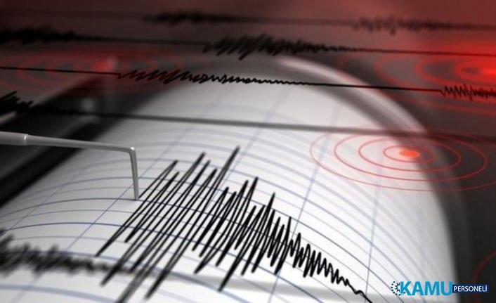 Marmara Denizi'nde Korkutan Deprem! Son Dakika Marmara Depremi