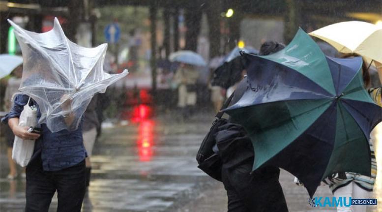 Meteoroloji'den Kuvvetli Rüzgar Ve Fırtına Uyarısı! Hava Durumu Nasıl Olacak?
