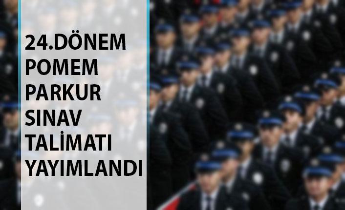 Polis Akademisi Yayımladı! 24. Dönem POMEM Polis Alımı Parkur Fiziki Yeterlilik Sınav Talimatı