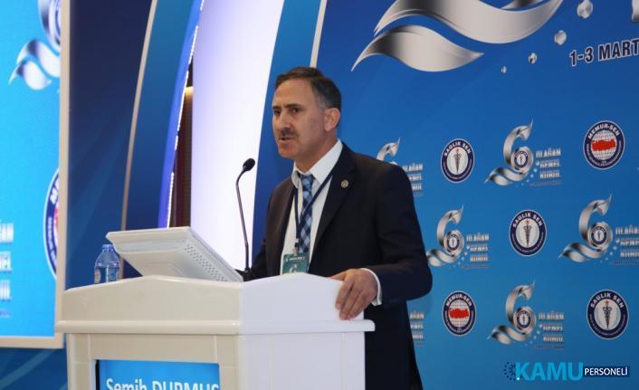 Sağlık-Sen Genel Başkanı Semih Durmuş'tan Sağlık Bakanlığına 29 Bin 689 Personel Alımı Hakkında Açıklama
