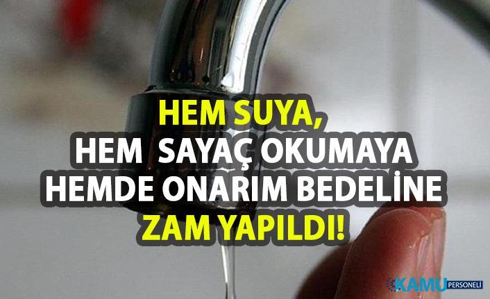 Samsun Büyükşehir Belediyesi Suya Zam Yaptı!