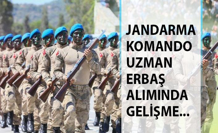 Son Dakika... Jandarma Komando Uzman Erbaş Alımında Flaş Gelişme!