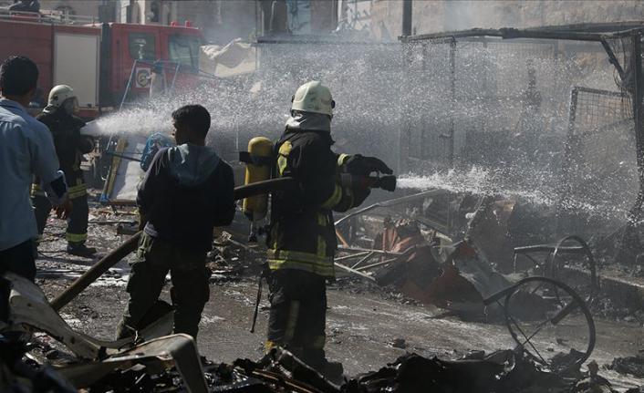 Suriye, Bab'da Bomba Yüklü Araç Patladı! Yaralılar Var