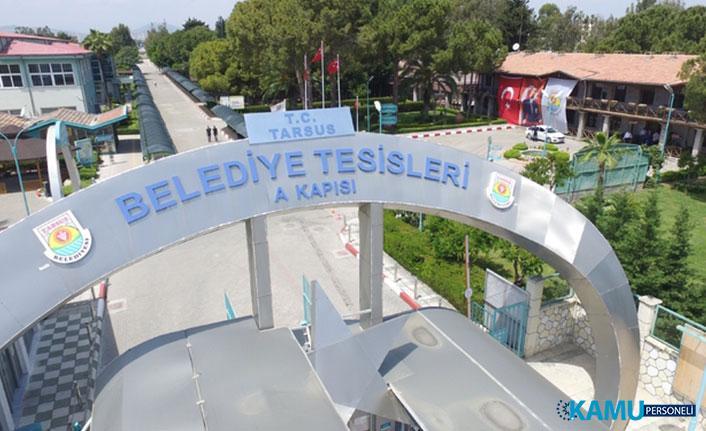 Tarsus Belediyesi 120 İşçi Alımı Yapacak! DPB İşçi Alımı İş İlanları