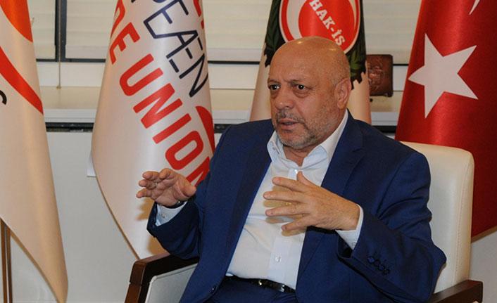 Taşerona Enflasyon Zammı, İşsizlik ve EYT Hakkında HAK-İŞ Konfederasyonu Genel Başkanı Mahmut Arslan'dan Flaş Açıklama!
