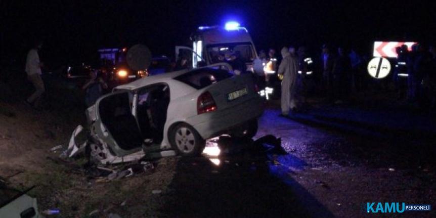 Tokat'ta trafik kazası geçiren 2 polis memuru hayatını kaybetti!