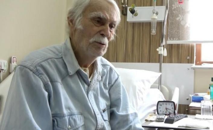 Türk sinemasının en önemli oyuncularından Eşref Kolçak yeniden hastaneye kaldırıldı
