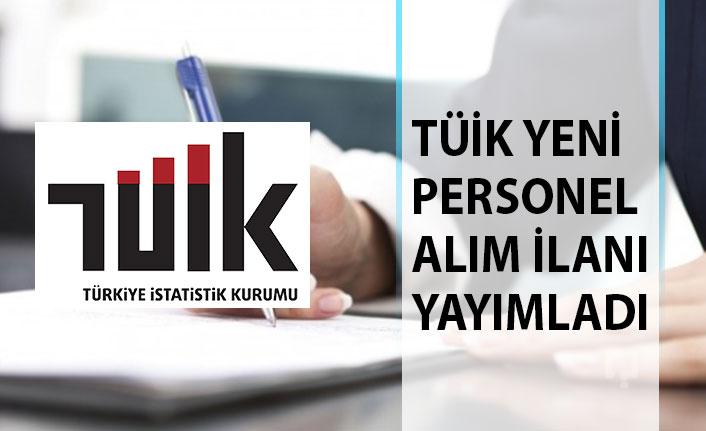 Türkiye İstatistik Kurumu Başkanlığı Personel Alım İlanı Yayımladı! TÜİK Personel Alımı 2019