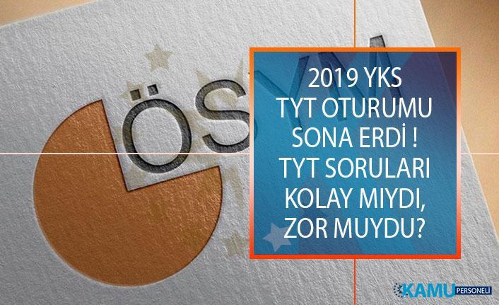 2019 Yükseköğretim Kurumları Sınavı (YKS) Soruları, Cevapları ve Yorumları (Kolay Mıydı, Zor Muydu?)