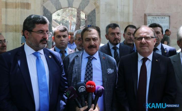 """AKP'li Eroğlu: """"CHP adayının ismini bile bilmiyorum"""""""