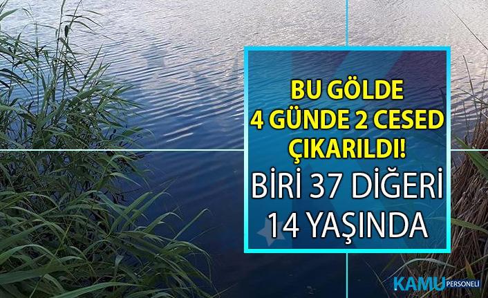 Ankara Gölbaşı ilçesinde bulunan Mogan Gölü'nde 2 cesed çıkarıldı!