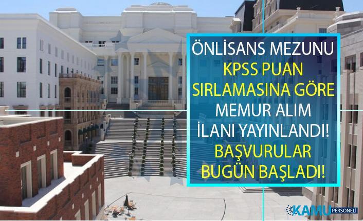 Ankara Müzik ve Güzel Sanatlar Üniversitesi KPSS Şartlı en az önlisans Büro Memuru Alım İlanı Yayınladı!