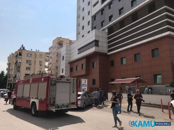 Antalya'da bir hastanede patlama meydana geldi! 1 ölü, 2 yaralı var...