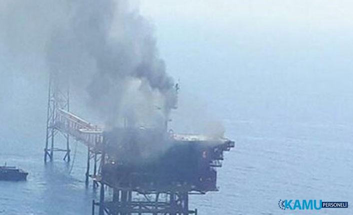 Basra Körfezi Petrol Çıkarma Tesisinde Şiddetli Patlama!