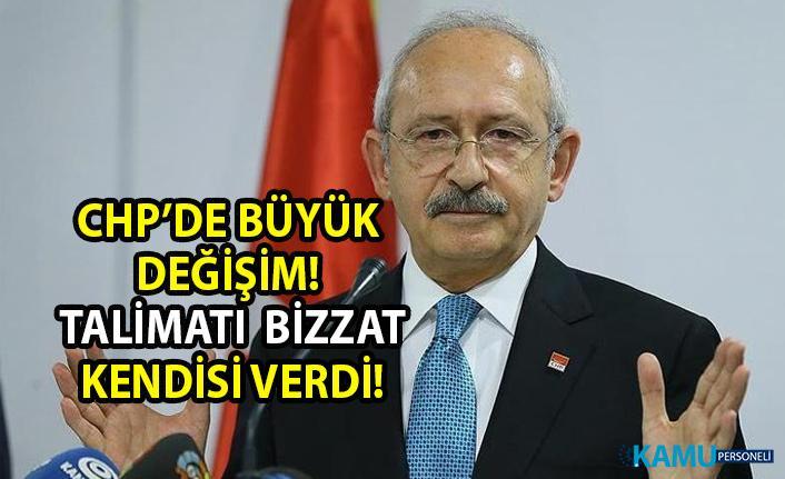 CHP'de büyük değişim! CHP Lideri Kemal Kılıçtaroğlu, parti programının yenilenmesi için talimat verdi!