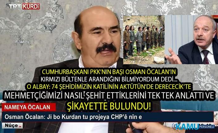 Cumhurbaşkanı Erdoğan bilmiyordum dedi ama, TRT'ye çıkarılan Osman Öcalan'ın 74 askerimizi nasıl şehit ettiğini eski Albay Erdal Sarızeybek anlattı!