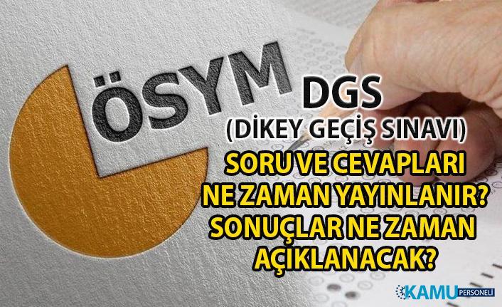 DGS soru ve cevapları ne zaman yayımlanır? DGS sonuçları ne zaman açıklanacak? İşte DGS puan hesaplama yöntemi