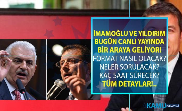 Ekrem İmamoğlu ve Binali Yıldırım'ın canlı yayın tartışması ne zaman ve hangi kanalda yayınlanacak?