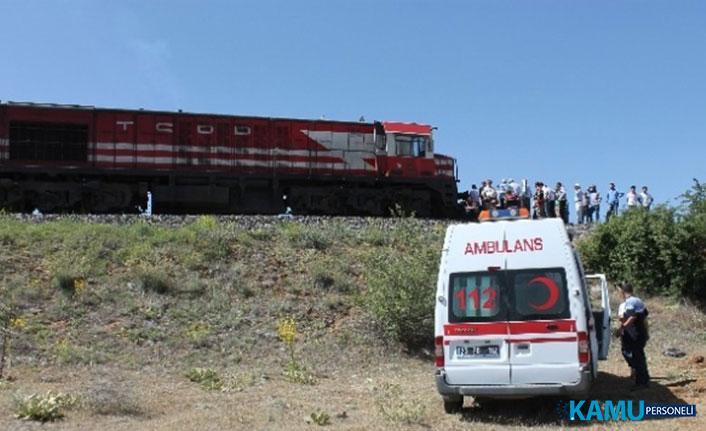 Elazığ'da Feci Tren Kazası! Ölü Ve Yaralılar Var