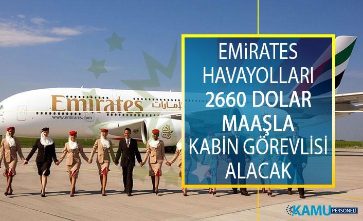 Emirates Havayolları 2660 Dolar Maaşla Kabin Görevlisi Alacak! Emirates Hava Yolları Kabin Memuru Alımı Başvuru Şartları Nelerdir?